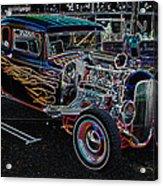 Orange Crush Ge Acrylic Print