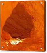 Orange Door Acrylic Print