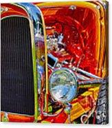 Orange Ford Acrylic Print