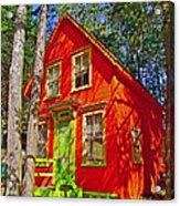 Orange In Asbury Grove In South Hamilton-massachusetts  Acrylic Print