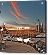 Orange October 2012 Celebrates The San Francisco Giants Acrylic Print by Jorge Guerzon
