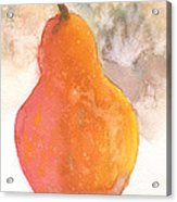 Orange Pear Acrylic Print
