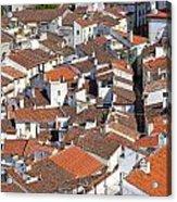 Orange Roofs Acrylic Print