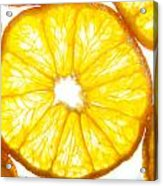 Orange. Acrylic Print