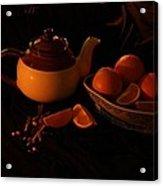 Orange Tea With Spices Acrylic Print