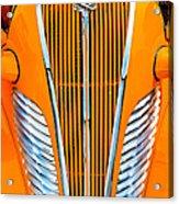 Orange Terraplane Acrylic Print