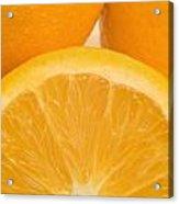 Oranges Acrylic Print by Darren Greenwood