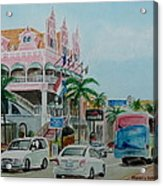 Oranjestad Aruba Acrylic Print