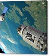 Orbital Maintenance Docking Acrylic Print