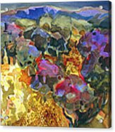Orchard Edge Acrylic Print
