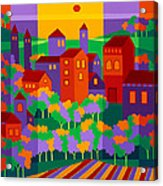 Orchard Villa Acrylic Print