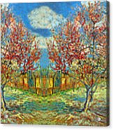Orchards Acrylic Print