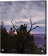 Orchestrating A Sunset At The Grand Canyon Acrylic Print