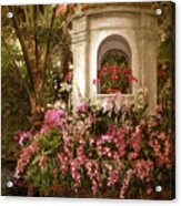 Orchid Show Acrylic Print