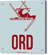 Ord Chicago Airport Poster 3 Acrylic Print