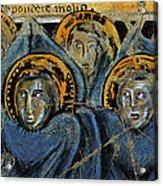 Order Of Cherubim Angels - Study No. 2 Acrylic Print