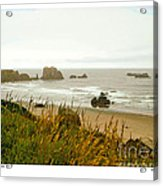 Oregon Beach Acrylic Print
