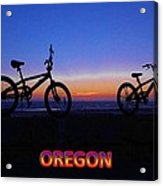 Oregon Bikes Acrylic Print