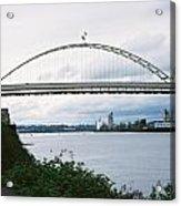 Oregon Bridge Acrylic Print