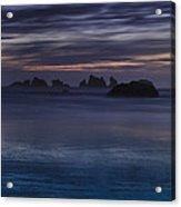 Oregon Coast After Sunset Acrylic Print by Andrew Soundarajan