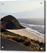 Oregon Coast And Fog Acrylic Print