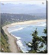 Oregon Coast View Acrylic Print