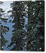 Oregon Crater Lake Panoramic Acrylic Print
