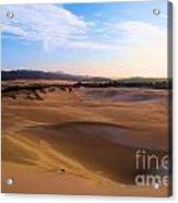 Oregon Dunes Landscape Acrylic Print