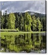 Oregon Lake Acrylic Print