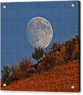 Oregon Moon Acrylic Print
