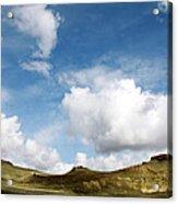 Oregon Trail Country Acrylic Print
