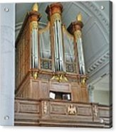 Organ At Westminster Acrylic Print