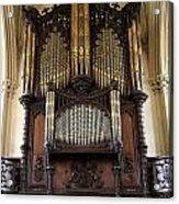 Organ Chapel Royal - Dublin Castle Acrylic Print