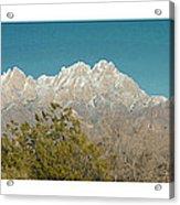 Organ Mountain Wilderness Acrylic Print