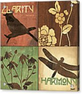 Organic Nature 2 Acrylic Print by Debbie DeWitt