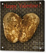 Organic Valentine Acrylic Print