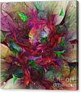 Orgy Of Colors Acrylic Print