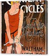 Orient Cycles 1890 Acrylic Print