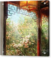 Orient - Lamp - Simply Chinese Acrylic Print