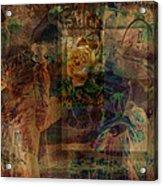 Oriental Glimpse Acrylic Print