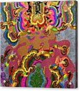 Oriental Leaf Acrylic Print