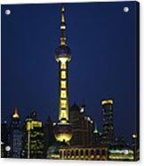 Oriental Pearl Tower, Shanghai Acrylic Print
