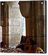 Oriental Rugs In Paris Acrylic Print by A Morddel