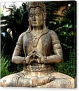 Oriental Statue Acrylic Print