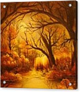 Hot Forest- Original Sold- Buy Giclee Print Nr 29 Of Limited Edition Of 40 Prints  Acrylic Print