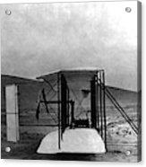 Original Wright Airplane, 1903 Acrylic Print