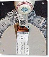 Orioles 60 Yr Anniversary Acrylic Print