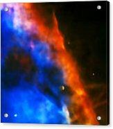 Orion Nebula Rim Acrylic Print