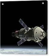 Orion Service Module Acrylic Print