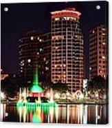 Orlando Panorama Acrylic Print